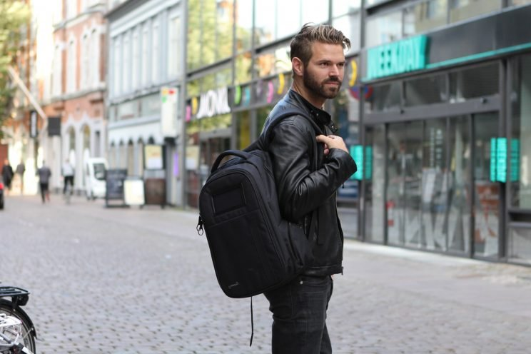 Canadian inventor looking to make people's lives simpler with the Swiss Army Knife of backpacks