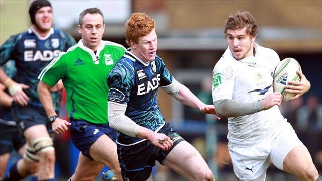 Rugby - Patchell determined to seize chance