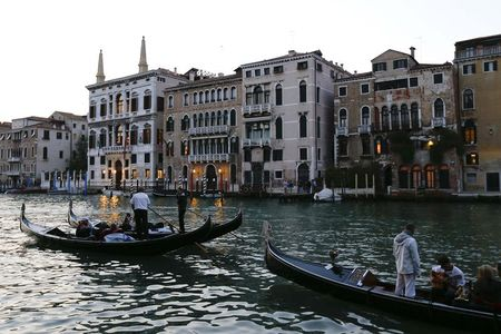 Could this be what Kelowna, B.C. one day look like Venice, with its many canals? (Getty Images)