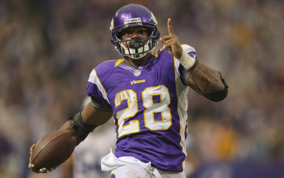 Is Adrian Peterson going to be a factor in the fantasy playoffs?