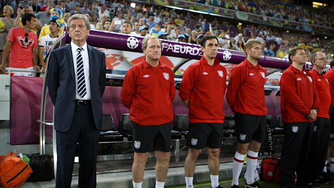 Roy Hodgson (left) is eager to remedy England's penalty shootout hoodoo