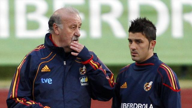Liga - Del Bosque: Villa is back to his best