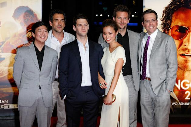 The Hangover Part II Berlin Premiere 2011 Ken Jeong Todd Phillips Justin Bartha Jamie Chung Bradley Cooper Ed Helms