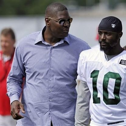 Jets' Holmes gets advice from Keyshawn at camp The Associated Press Getty Images Getty Images Getty Images Getty Images Getty Images Getty Images Getty Images Getty Images Getty Images Getty Images Ge