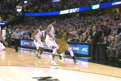 Willie Cauley-Stein showed why he's an NBA lottery pick on Notre Dame's final miss