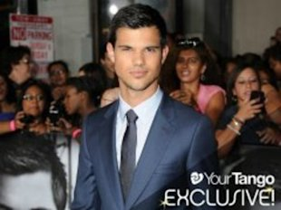 Taylor Lautner makes the girls scream.