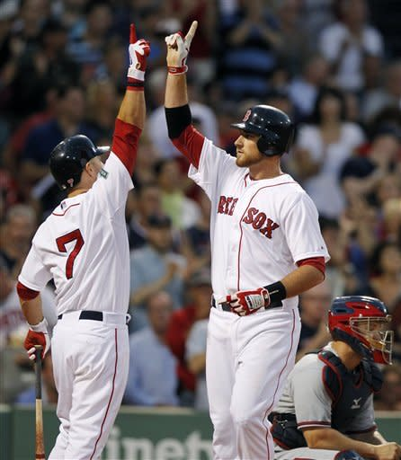 Middlebrooks shines again; Red Sox beat Braves 8-4