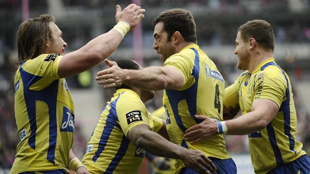 Top 14 - Clermont go top with thumping win at Stade Francais