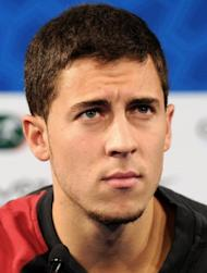 Eden Hazard (pictured in 2011) admits he decided to join Chelsea after watching his new club's dramatic Champions League final triumph against Bayern Munich
