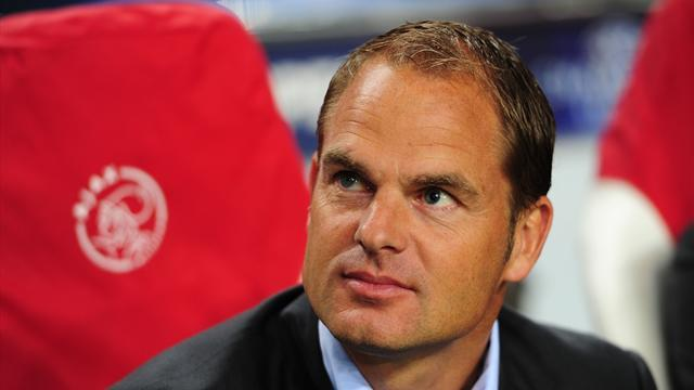 Premier League - De Boer confirms Tottenham approach