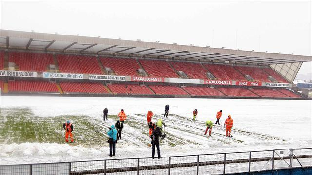 World Cup - Northern Ireland v Russia postponed again