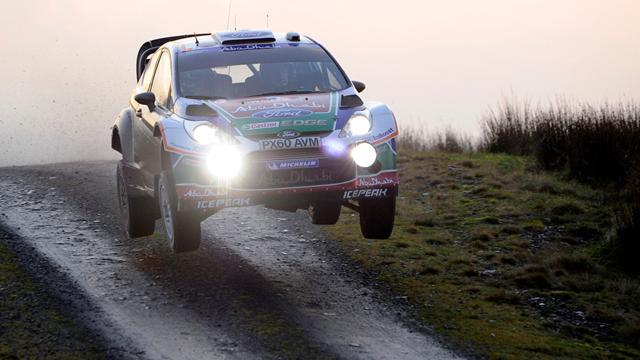 Ford duo hoping for more Rally GB success