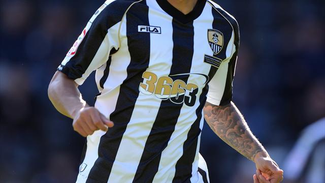 Football - Player movement at Meadow Lane