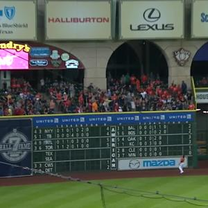 Trout's 100th career home run