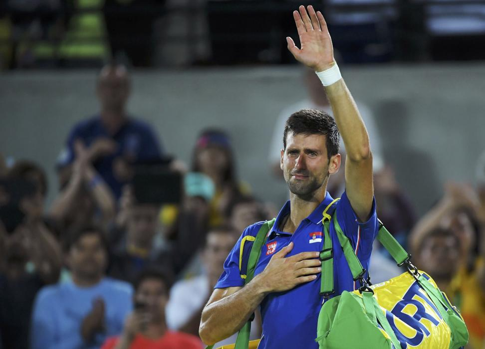 Rio 2016: Novak Djokovic in tears after first round loss