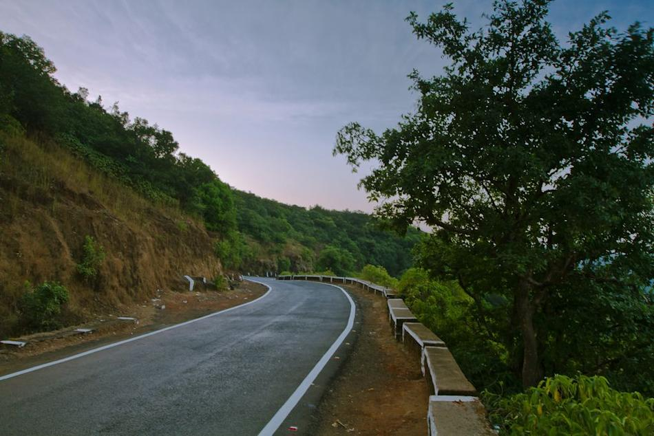 The road to Agumbe