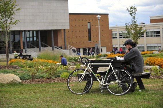 "Université de Sherbrooke ranked 6 out of 215 international universities for its ""green"" campus.. (Facebook)"