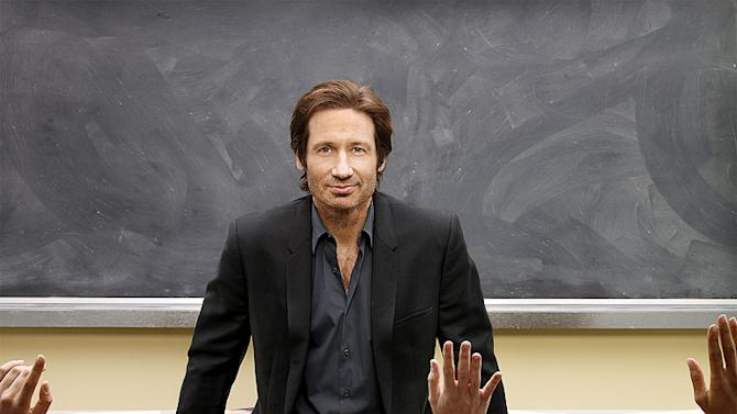 David Duchovny in the Showtime series Californication