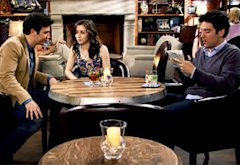 Josh Radnor, Cristin Milioti and Josh Radnor | Photo Credits: CBS