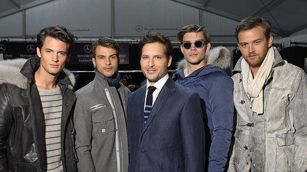Peter Facinelli and Models