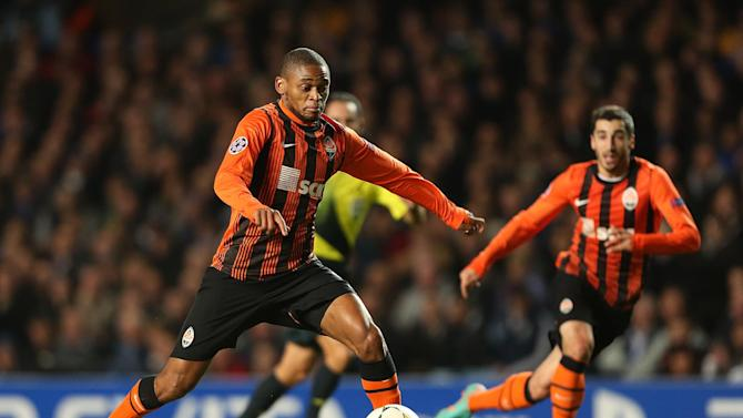 Luiz Adriano scored a hat-trick as Shakhtar secured a well-deserved away win