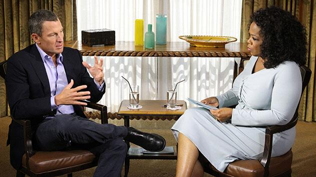 """Oprah's Next Chapter"" -- Lance Armstrong"