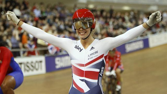 Cycling - Another gold for James; Trott settles for silver