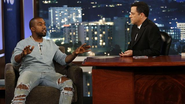WATCH: Kanye & Jimmy Make Nice on 'JKL'