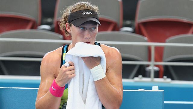 Tennis - Stosur's poor home form continues with Sydney defeat