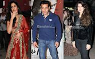 Salman Khan's day out with exes Katrina Kaif and Sangeeta Bijlani