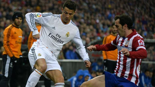 Liga - Ronaldo rescues Real in hard-fought Madrid derby