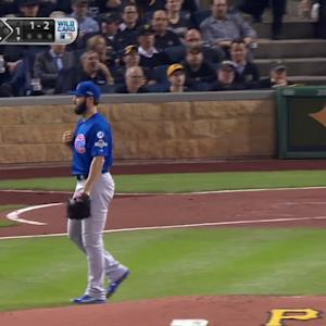 Arrieta leads Cubs to the NLDS
