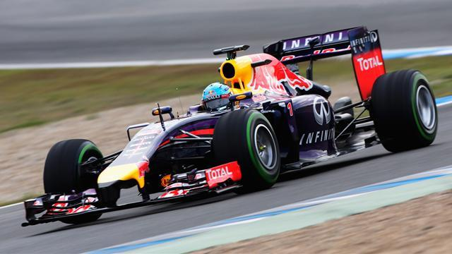 Formula 1 - Nightmare start to 2014 for Vettel in Jerez test