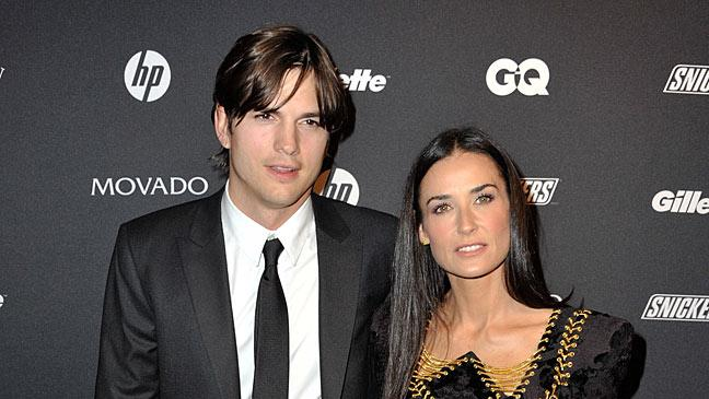 Kutcher Moore GQ Ball