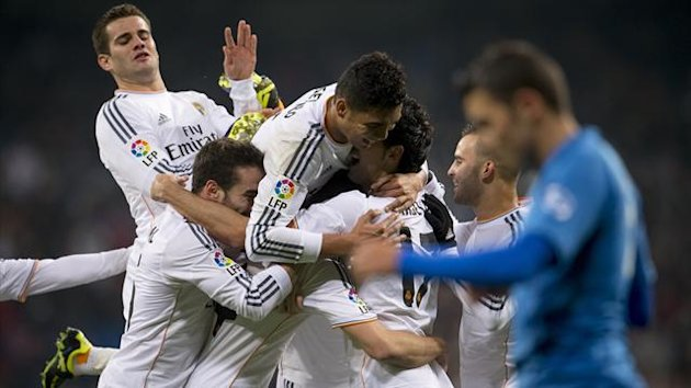 Real Madrid beat Olimpic Xativa to reach the last 16 (AFP)