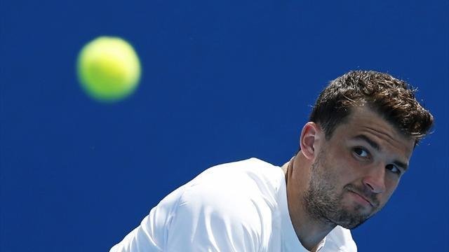 Tennis - Improving Dimitrov sets sights on grand slam title