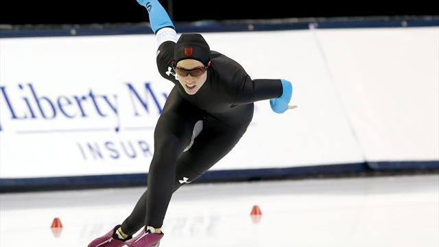 Speed Skating - Gunther overcomes fractures and funding worries