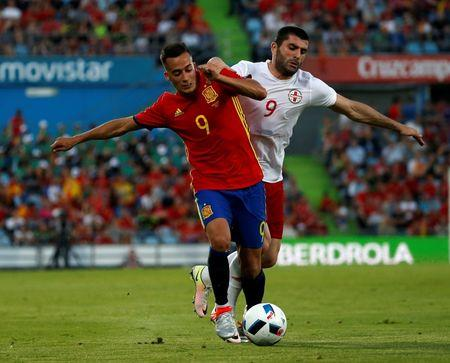 Football Soccer - Spain v Georgia- International Friendly-