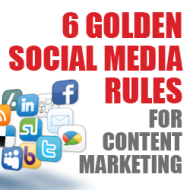 Six Golden Social Media Rules for Content Marketing image content marketing social media