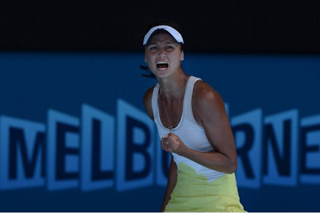 Russian's Elizaveta Kulichkova, pictured here at the 2015 Australian Open, is currently ranked 17th in the world