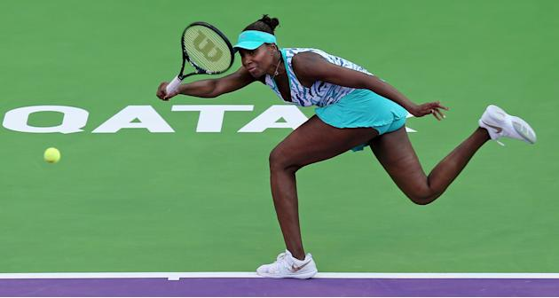 Venus takes long road, Azarenka set up Qatar Open semifinal