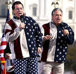 Jon Stewart and Stephen Colbert's Best 2012 Presidential Election One-Liners
