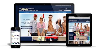 10 Awesome Examples of Ecommerce Sites Using Responsive Web Design image tommy rwd