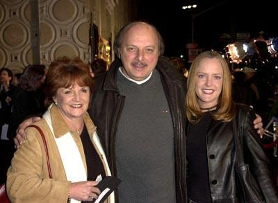 Dennis Franz with wife Joannie and daughter Krista at the Hollywood premiere of The Count of Monte Cristo