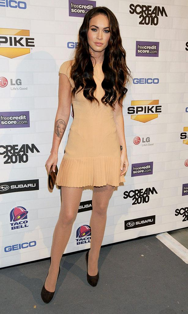 "Spike TV's ""SCREAM 2010"" - Step & Repeat: Megan Fox"