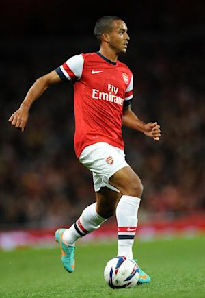Theo Walcott will not feature against Montpellier