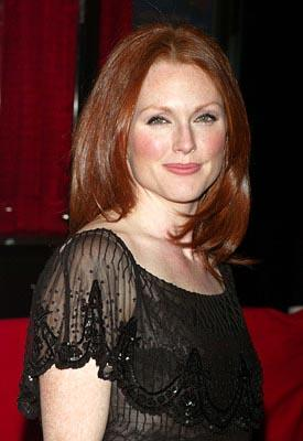 Julianne Moore at the New York premiere of New Line's Laws of Attraction