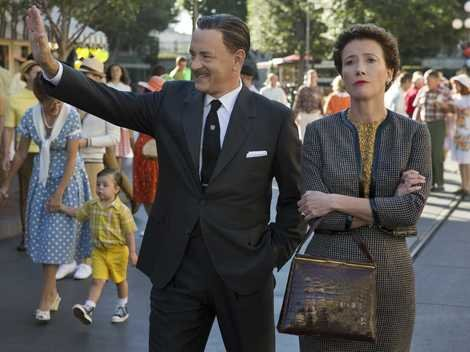 Walt Disney and P.L. Travers don't see eye-to-eye in 'Saving Mr.Banks'.