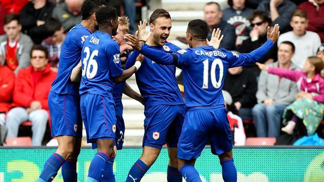Premier League - Cala strike secures Cardiff precious win at Southampton
