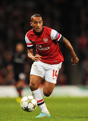Theo Walcott is yet to agree a new contract at Arsenal